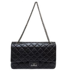 411d5fdadc09 modaselle - Chanel Black Aged Calfskin Reissue 2.55 Double Flap 227, CAD  $5,200.00 (http