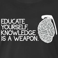 Educate yourself knowledge is a weapon t-shirt #t-shirt #t-shirts #tshirt #tshirts #giftidea #giftideas #giftsidea #giftsideas