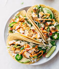 Spicy Ancho marinated Chicken Tacos with Chipotle Mayo Pico de Gallo & Jalapeños by @littlespicejar  pick the ingredients up tomorrow after work & you've got #tacoTuesday sorted! Get the #recipe & 50 more Taco recipes from http://ift.tt/2paE1Yt (Feed edited by @thebutterhalf_ Link in profile) or if you ever want the recipe of a pic we've posted on this account go to http://ift.tt/2cd3udQ. Remember to share your cooking baking and drink making pics and videos by tagging #feedfeed @thefeedfeed…