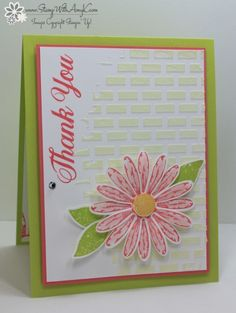 Stampin' Up! Daisy Delight for the Stamp To Share Blog Hop – Stamp With Amy K