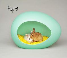 {Hop ♥} egg-shaped pet bed - pEi Pod.
