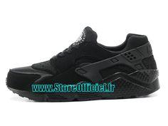 newest 50419 e8089 Nike Basket Huarache GS Pas Cher Chaussure Pour Femme Blanc 654275-111