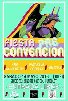 Fiesta Pre Convencion AniMecha FEST 2016 - Puebla, México, 14 de Mayo 2016 ~ Kagi Nippon He ~ Anime Nippon-Jin