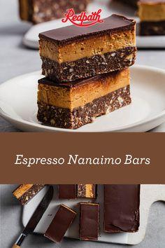 No Bake Treats, Yummy Treats, Sweet Treats, Vegan Desserts, Easy Desserts, Delicious Desserts, Coffee Dessert, Dessert Bars, Sweets Recipes