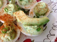 Strong Girls Eat: Avocado Devilled Eggs