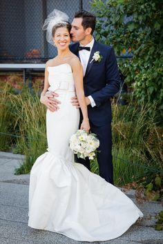 Modern New York Wedding from Amaranth Photography. - wedding dress