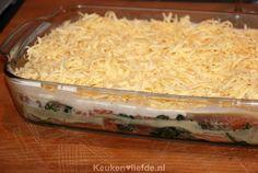 Lasagne met zalm en spinazie voor fijnproevers - Keuken♥Liefde