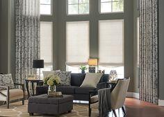 small space interior design tricks #draperies #windowtreatments #dfw