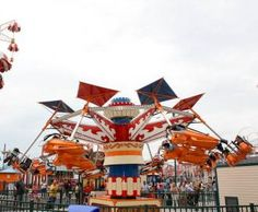 Coney Island Hang Glider (NYC, rides, amusement park)