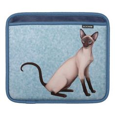 Friendly Young Siamese Cat iPad Sleeve  #siamese #cats  #ipad