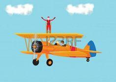 Vintage Planer Banque D'Images, Photos, Illustrations Libre De Droits