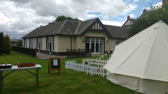 Adventure Play Tent at Huntingtower Hotel