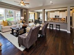 Open Floor Plan by suzanne