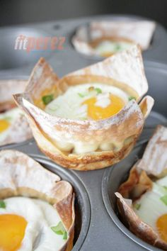 Baked Eggs in Cups