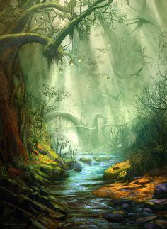 Enchanted Forest by ~FerdinandLadera on deviantART