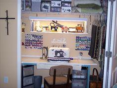 Sewing Room Is Guest Bedroom