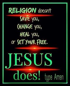 Only Jesus Can Save You !