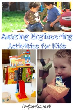 Amazing Engineering Activities for Kids: Crafts on Sea