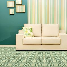 Barb-Lin Carpet One - Stanton Carpet: Product Detail - Vernazza - Versilia: 3604 Seaside Blue