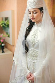 Traditional Circassian Wedding Dress