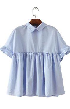 Kinsley, Favorite Blue Blouse Summer