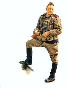 ARMATA ROSSA - Junior sergeant in telogrieka padded jacket