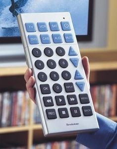 Giant remote control. I actually want one.