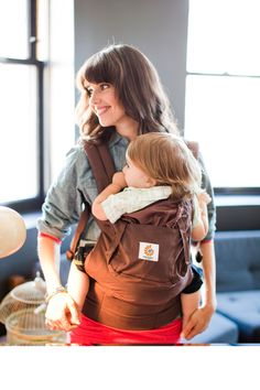 Ergobaby Carrier Dark Chocolate - www.oogappel.be