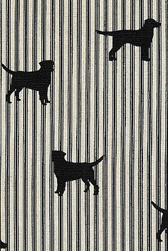 Labrador Fabric SterlingandKnight.com Intrducing DOG prints on Scottish Linen exclusive to-the-trade