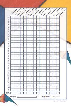 Star Behavior Chart for Kids | Kid Pointz