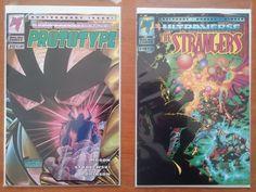 Lot of 2 Ultraverse Comics: Prototype #12 & The Strangers #16