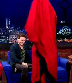 """andiamburdenedwithgloriousfeels: """" gretagerrwig: """" Sir Patrick Stewart being flawless and James McAvoy laughing his ass off """" All I see is Charles making fun of Magneto. """""""