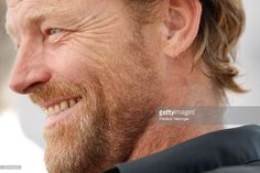 Ian Glen poses during the 'Jack Taylor' photocall as part of MIPCOM 2011 at Hotel Majestic on October 3, 2011 in Cannes, France.