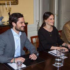 Prince Carl Philip and Princess Sofia.