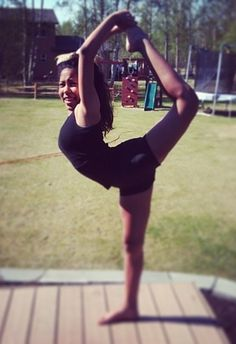 ...you practiced these moves, even if you weren't a flyer. | 35 Things Every Cheerleader Will Understand #cheer #cheerleader #cheerleading