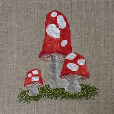 Cross stitch (with some french knots too!)