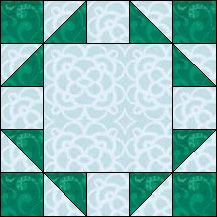 Block of Day for November 26, 2013 - Five Patch Frame