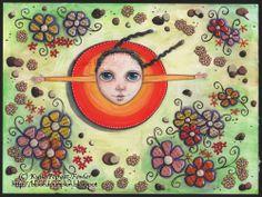 'Nature Dance' - by Kylie Pepyat-Fowler AKA: Blissful Pumpkin Www.kyliefowler.com