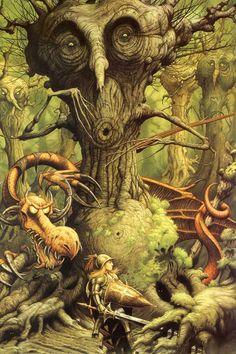Rodney Matthews, *Alice in Wonderland*, 2008
