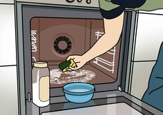Uunin puhdistus – katso kuvalliset ohjeet   Meillä kotona Keurig, Diy And Crafts, Coffee Maker, Kitchen Appliances, Cleaning, Clever, Sun, Random, Coffee Maker Machine