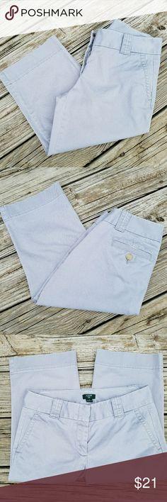 J. Crew Favorite Fit Capri Pants J. Crew Capri Pants Favorite Fit Size 2 Stretch Like New Condition J. Crew Pants Capris