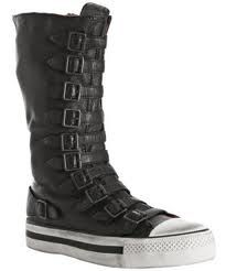 "I call these ""zombie apocalypse"" boots."