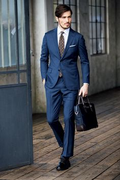 Mens Fashion Suits, Mens Suits, Gentleman Style, Business Fashion, Formal Wear, Dapper, Bespoke, Menswear, Poses
