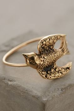 Sweeping Swallow Ring #anthrofave