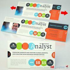 The Extendo® - Business Event Invitation redpaperplane.com