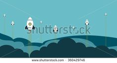 Team work start up business #business #startup #stock #sketch #business #background #vector #startup #skyline #sales #info #graphics #button