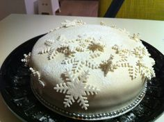 Kerst taart 2011