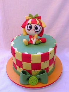 Bolos Decorados Sítio do Pica Pau Amarelo Bolo Shopkins, Bolo Fack, Bolo Frozen, Funny Cake, Alice, Music Party, Cake Art, Biscuits, Cake Decorating