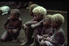1983, Malaita, Solomon Islands --- Children of Malaita Island, Solomon Islands --- Image by © Albrecht G. Schaefer/CORBIS