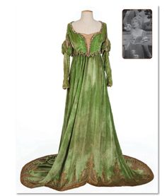 Costume worn by Mary Pickford in the 1929 version of Taming of the Shrew!